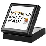 Mad About March Keepsake Box