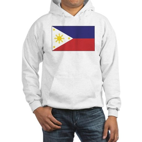 Philippine Flag Hooded Sweatshirt