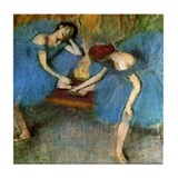 Edgar Degas Tile Coaster