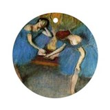 Edgar Degas Ornament (Round)