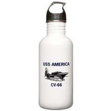 USS AMERICA CV-66 Water Bottle