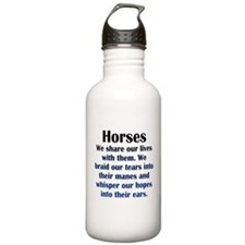 Importance of Horses Water Bottle