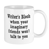 Writer's Block Coffee Mug