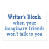 Writer's Block Postcards (Package of 8)