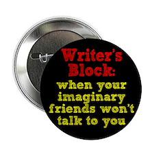 "Writer's Block 2.25"" Button (100 pack)"