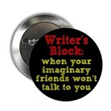 "Writer's Block 2.25"" Button"