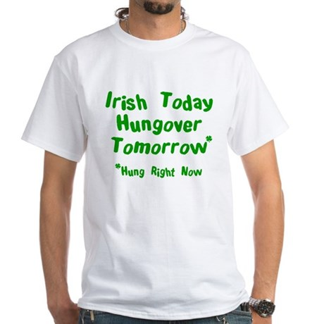Irish Drinks Shirts Pub Crawl White T-Shirt