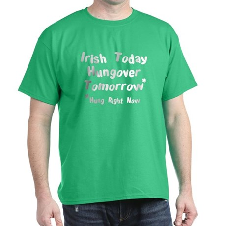 Irish Drinks Shirts Pub Crawl Dark T-Shirt