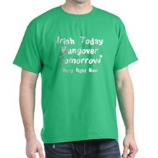 Irish Drinks Shirts Pub Crawl T-Shirt