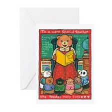 Special Teacher - Greeting Cards (Pk of 10)