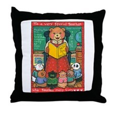 Special Teacher - Throw Pillow