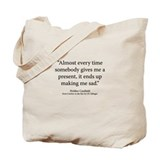 Catcher in the Rye Ch.7 Tote Bag