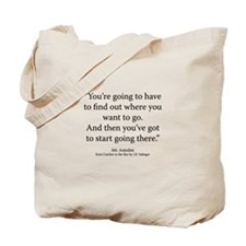 Catcher in the Rye Ch. 24 Tote Bag