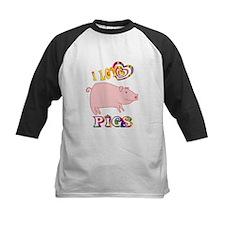 I Love Pigs Tee