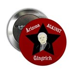 Arizona Against Gingrich campaign button