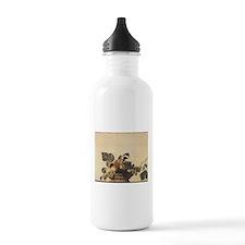 Basket of Fruit Sports Water Bottle