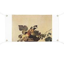 Basket of Fruit Banner