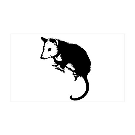 Possum Silhouette 38.5 x 24.5 Wall Peel