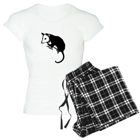 Possum Silhouette Women's Light Pajamas