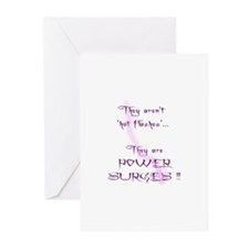 Hot Flashes Greeting Cards (Pk of 10)