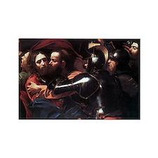 Taking of Christ Rectangle Magnet
