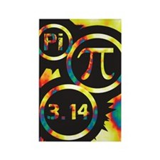 Groovy Pi Math Rectangle Magnet (100 pack)