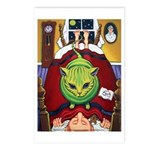 Alien Abduction ~ Cat Postcards (Package of 8)