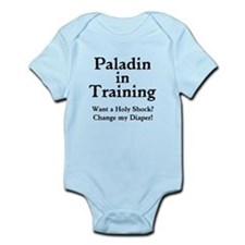 Gaming Paladin in Training Infant Bodysuit