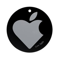 Love Apple Ornament (Round)