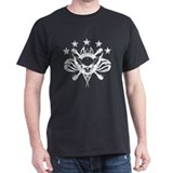 Skull And Stars Black T-Shirt
