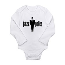 JAZZ POLICE, Long Sleeve Infant Bodysuit