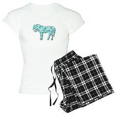 HeartHorse - Aqua Pajamas