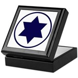 Star of David Roundel Keepsake Box