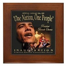 President Obama's Official Framed Tile