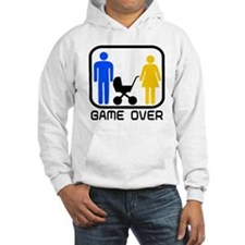 Game Over Marriage Married Ba Hoodie
