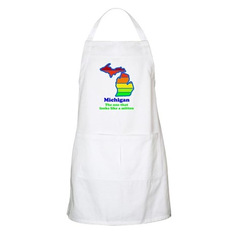 Say Yes To Michigan and The M Apron
