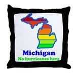 Say Yes To Michigan and The M Throw Pillow
