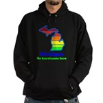 Say Yes To Michigan and The M Hoodie (dark)