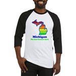 Say Yes To Michigan and The M Baseball Jersey