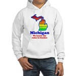 Say Yes To Michigan and The M Hooded Sweatshirt
