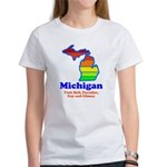 Say Yes To Michigan and The M Women's T-Shirt