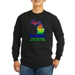 Say Yes To Michigan and The M Long Sleeve Dark T-S
