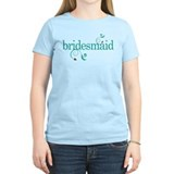 Bridesmaid Wedding Swirl T-Shirt