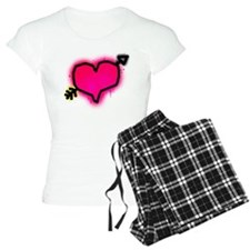 'Graffiti Heart' Pajamas
