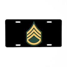 Staff Sergeant License Plate