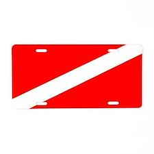 Scuba Diver License Plate