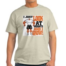 LOOK n' GROW! - Ash Grey T-Shirt