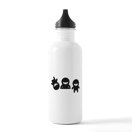 Like a Ninja Stainless Water Bottle 1.0L