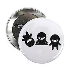 """Like a Ninja 2.25"""" Button (100 pack)"""