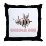 Bubble Bee Throw Pillow